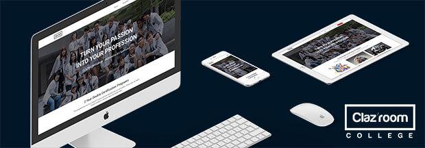 Clazroom college redesign project