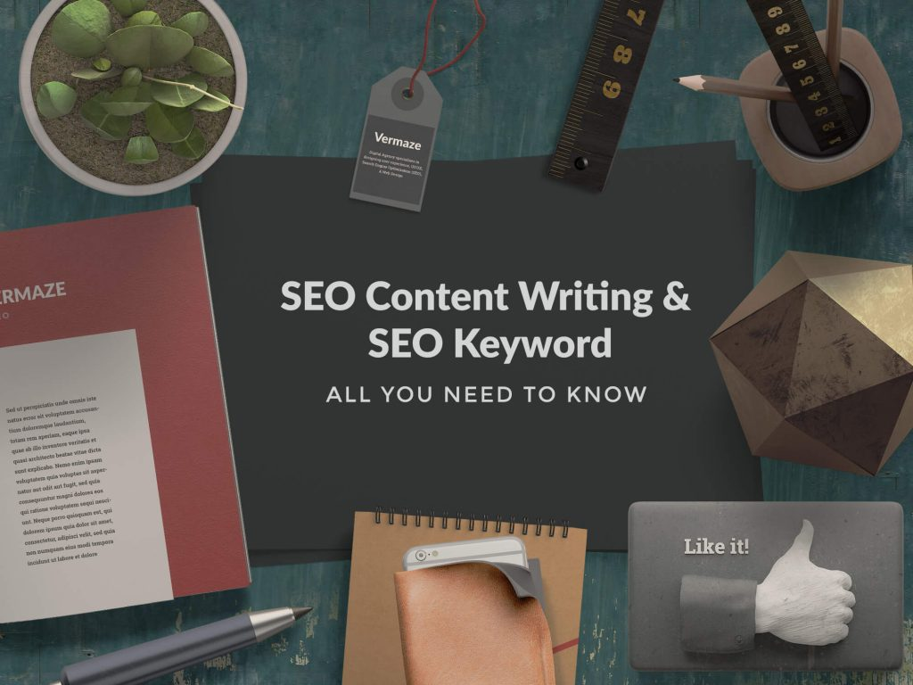 SEO Content Writing & keyword research