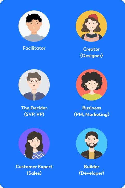 design sprint team mobile